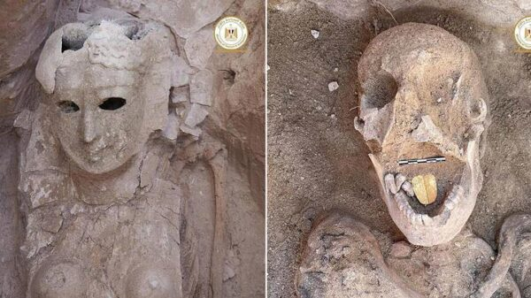 16 catacombs with their mummies found in Alexandria 14