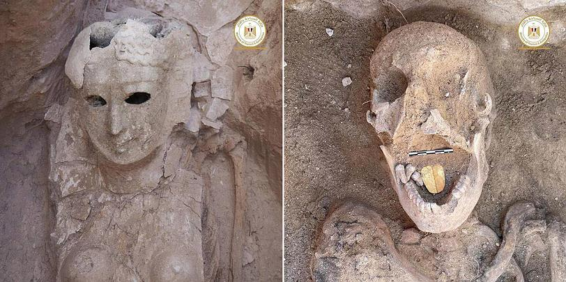 16 catacombs with their mummies found in Alexandria 39