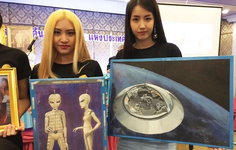 "Thai UFO Seeker group of ""Buddhist aliens"" declare: extraterrestrials are worried about destruction and war "" 41"