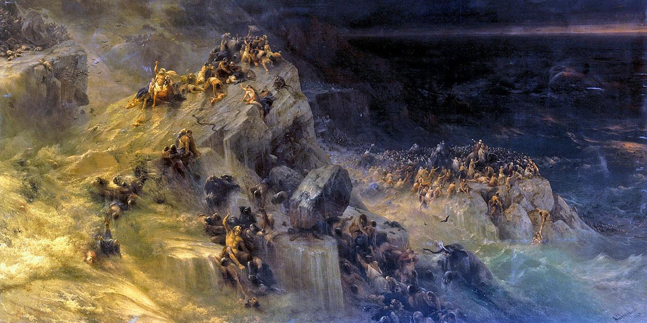 Bible: great flood.