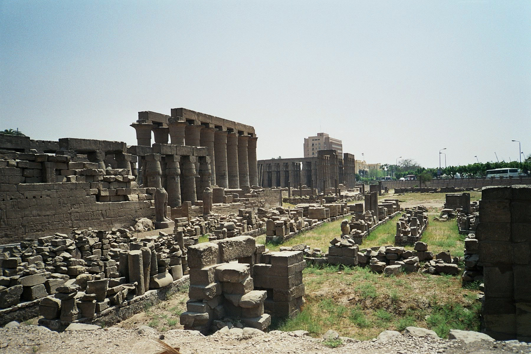 Ruins of Thebes.  Photo © Wikipedia
